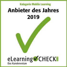Anbieter des Jahres Mobile Learning