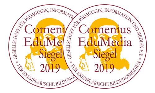 Das doppelte Comenius EduMedia Siegel 2019 für inside E-Learning-Lösungen