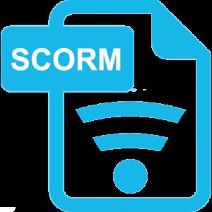 Icon für die Remote-SCORM-Technik, die eine Anbindung an das LMS gewährleistet