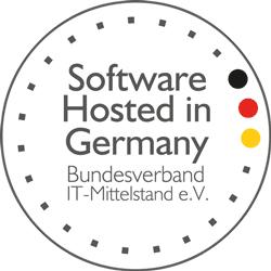 """Das """"Software Hosted in Germany"""" Gütesiegel für die inside Unternehmensgruppe"""