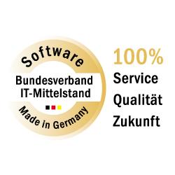 """Das """"Software Made in Germany"""" Gütesiegel für die inside Unternehmensgruppe"""