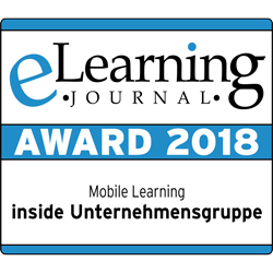 "eLearning Award 2018 – Kategorie ""Mobile Learning"""