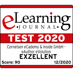 Testsiegel 2020 eLearning Journal