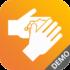 Download-Icon für die Demo-Version der Fit in Hygiene App