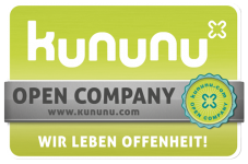 kununu Open Company Siegel für Offenheit als Arbeitgeber