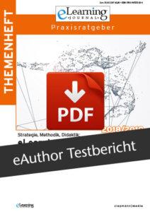 Vorschaubild zum PDF-Download des eAuthor-Testberichtes