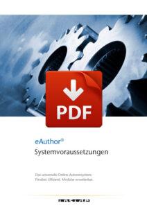 Vorschaubild zum PDF-Download der eAuthor-Systemvoraussetzungen