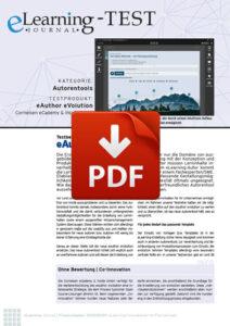 PDF-Dokument mit Testbericht zum Autorentool